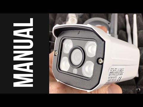 MANUAL: 1080P HD Wireless CCTV Bullet WIFI audio Outdoor