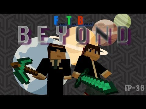 FTB Beyond Ep-36 Draconic Evolution AUTO Fusion Crafting with AE2