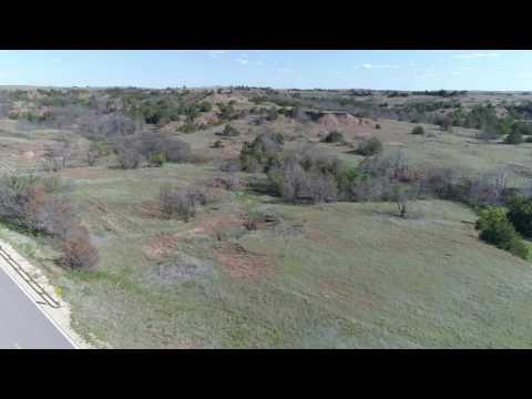 DJI Phantom 4 pro few miles west of Medicine Lodge Kansas ks
