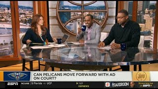 The Jump | Rachel Nichols CRITICISMED👿 Pelicans move Forward with Anthony Davis on court