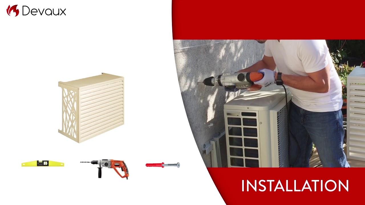 Comment Fabriquer Un Cache Climatiseur Exterieur cache climatisation & pompe à chaleur - devaux sa