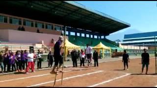 Desa Wlahar Wetan Juara 1 Lomba Egrang Acara HUT RI Ke 71 Tahun 2016 Kabupaten Banyumas