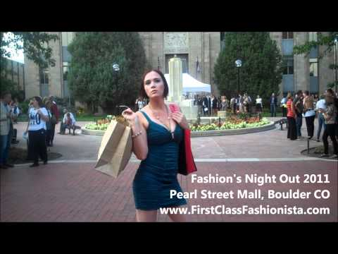 Miss Colorado Blair Griffith Interview at Fashion's Night Out Boulder