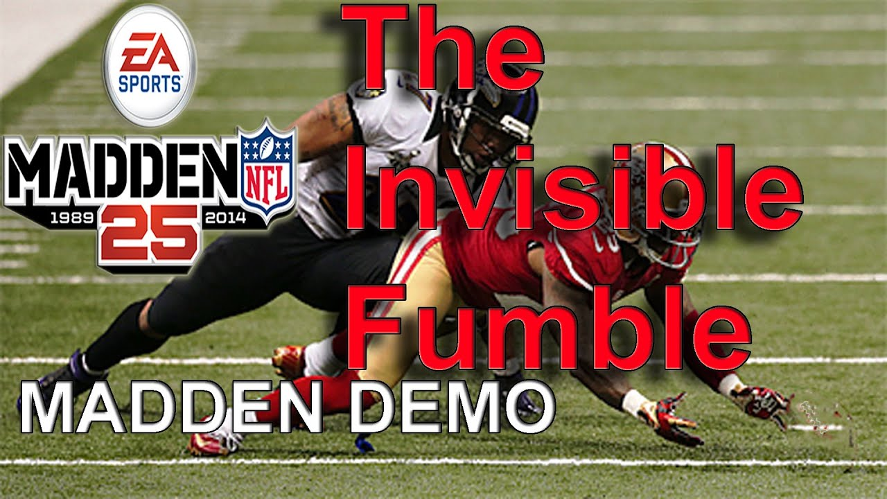 Madden 25 Glitch The Invisible Fumble YouTube