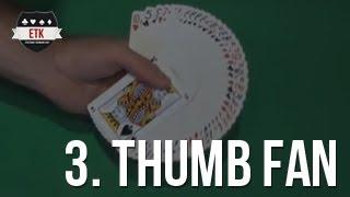 vuclip Efektowne tasownie kart - thumb fan tutorial - wachlarz z kart [PL] [ENG subtitles]