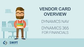 Vendor Card Overview in Microsoft Dynamics NAV