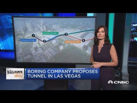 Boring Company proposes tunnel in Las Vegas