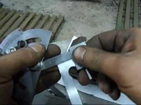 Угол заточки ножей для электрорубанка 77