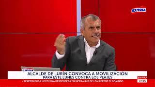 Alcalde de Lurín sobre peajes: Jorge Muñoz debe tomar decisiones radicales, sin miedo