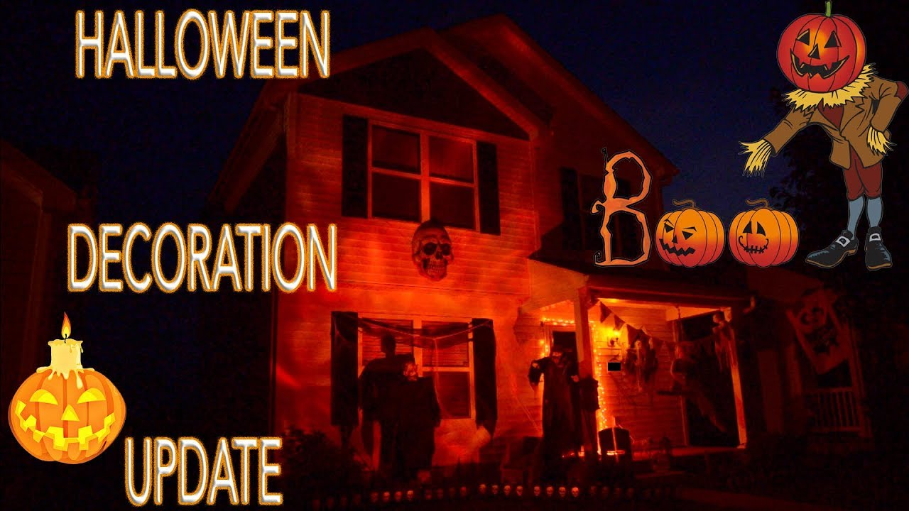 my halloween decorations update 2017