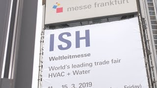 Gambar cover ISH Frankfurt: World's leading trade fair for sustainable heating and air-conditioning technology