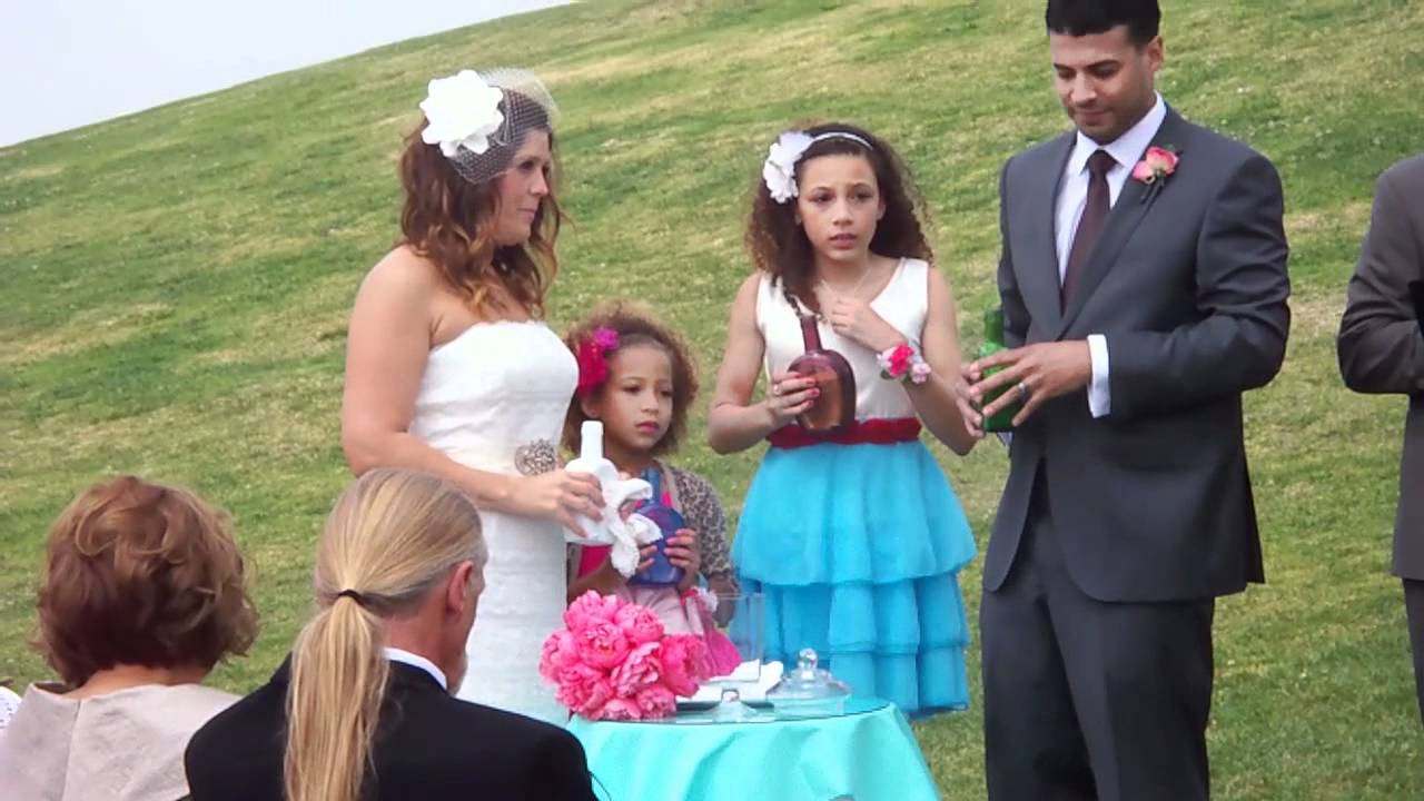 Sand Wedding Ceremony Long Beach Lighthouse