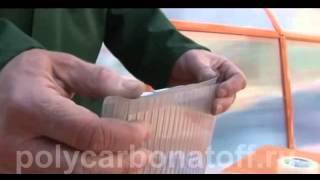 Сотовый поликарбонат заделка торцов гермо и перфо лентой(, 2015-01-05T20:37:06.000Z)
