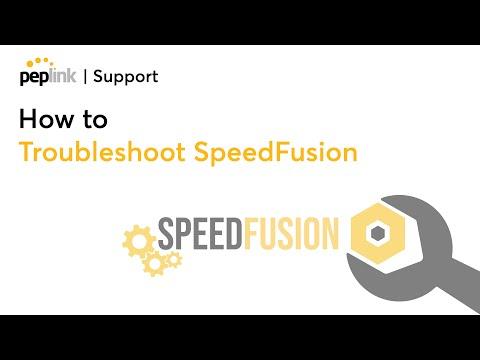 Peplink technology - SpeedFusion troubleshooting