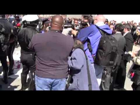 The arrests - Undocumented and Unafraid - Atlanta sit-in