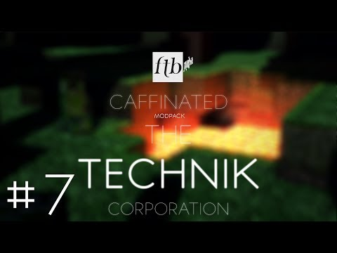 FTB Caffeinated: The Technik Corporation - Part 7 - Missile Launching System Complete (eenkyou!)