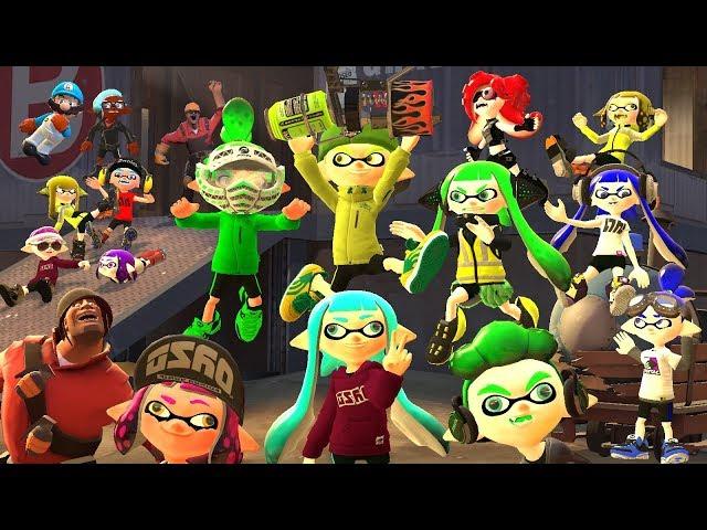 [Splatoon GMOD] Squid-nanigans 2