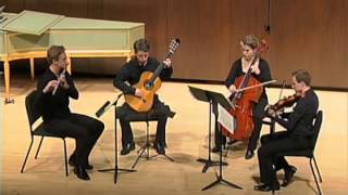 Schubert: Quartet for Flute, Guitar, Viola and Cello -- 1. Moderato