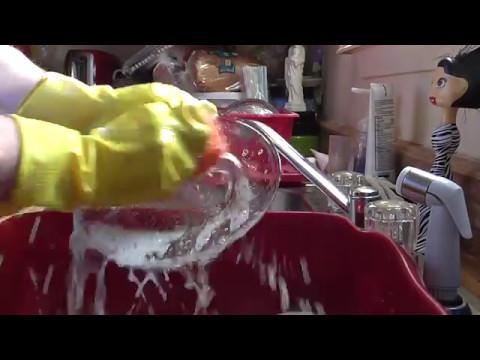 ASMR -- Washing The Dishes