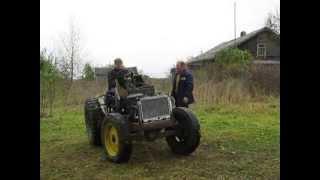 Бешеный трактор на Дуброве