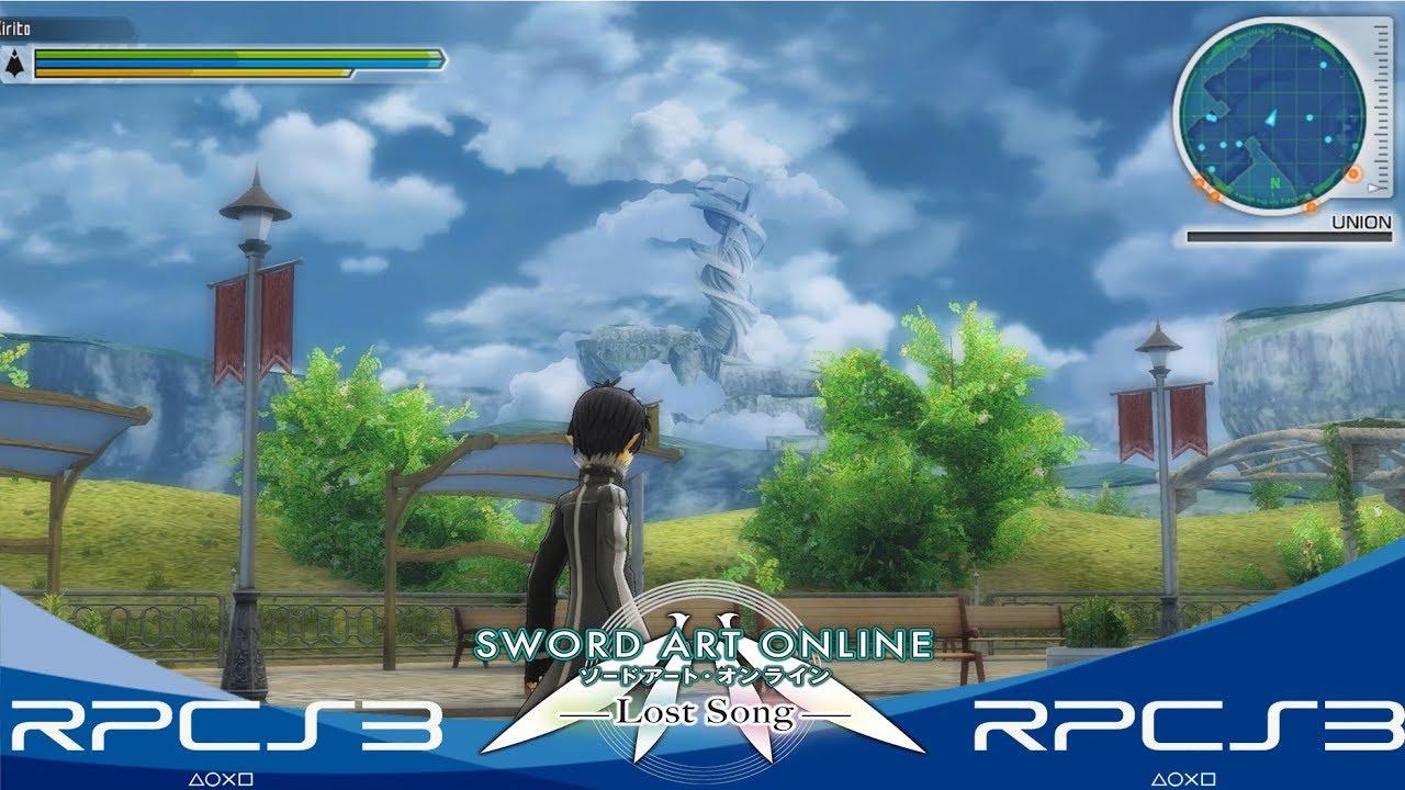 sword art online ps3 iso