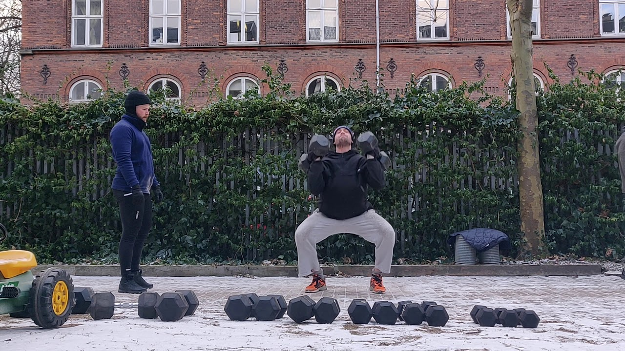 FOOTWORK in the Dumbbell Game - Hybrid Exercises