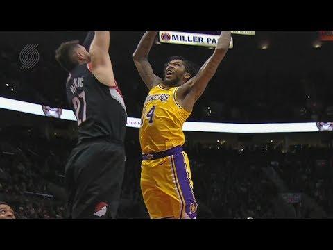 Ingram Dunks on Nurkic! Lakers Get Revenge vs Blazers! 2018-19 NBA Season