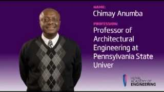 Professor Chimay Anumba FREng - Designed to Inspire - Royal Academy of Engineering