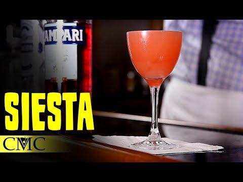 How To Make The Siesta Cocktail | Derrick Loves Campari?