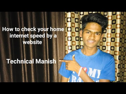 How to check for home internet speed | speed test by ookla | Technical Manish | from YouTube · Duration:  1 minutes 53 seconds