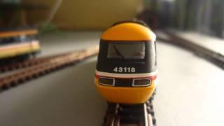 Dapol N Gauge Class 43 HST Intercity 125 Book Set