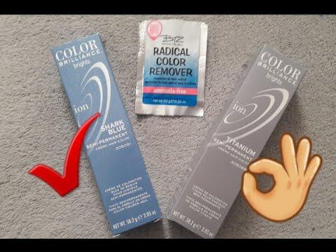 Probando productos de Sally Beauty BTZ + ION ( aclarado SIN decolorante )