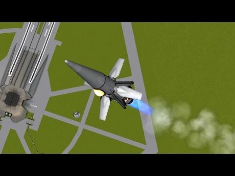 KSP - Whiplash VTOL Speeddart