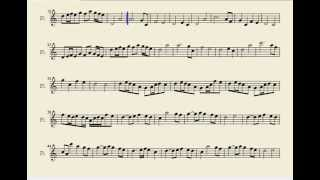 Fairy Tail Main Theme Flute Sheet