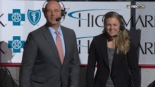 Kendall Coyne Schofield's opening remarks on NBCSN