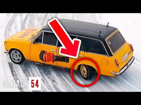 """ДВОЙКА """"ЗАДОМ на ПЕРЕД"""" от ГАРАЖ 54"""