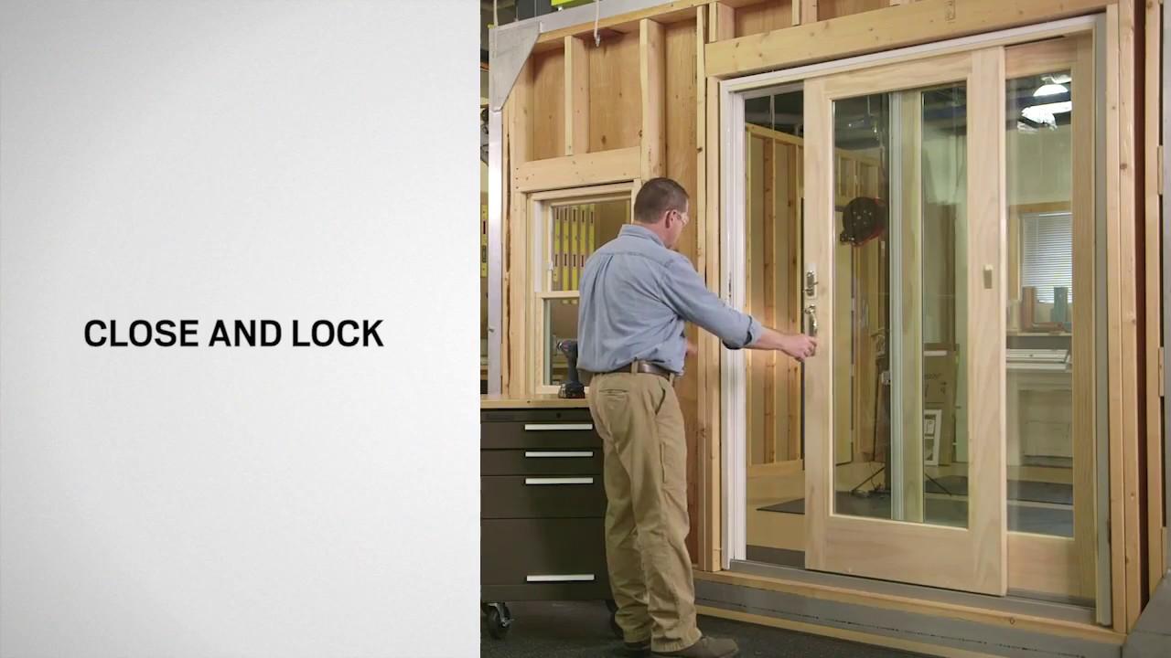 installing verilock security sensors on gliding patio doors w exterior locks andersen windows
