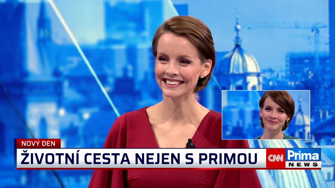 Emotivní loučení s Gabrielou Laškovou - moderátorkou Nového dne