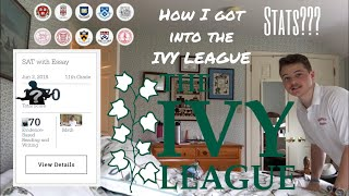 REVEALING MY STATS (GPA, SAT, ACT, AP, etc.) | How I got into the Ivy League