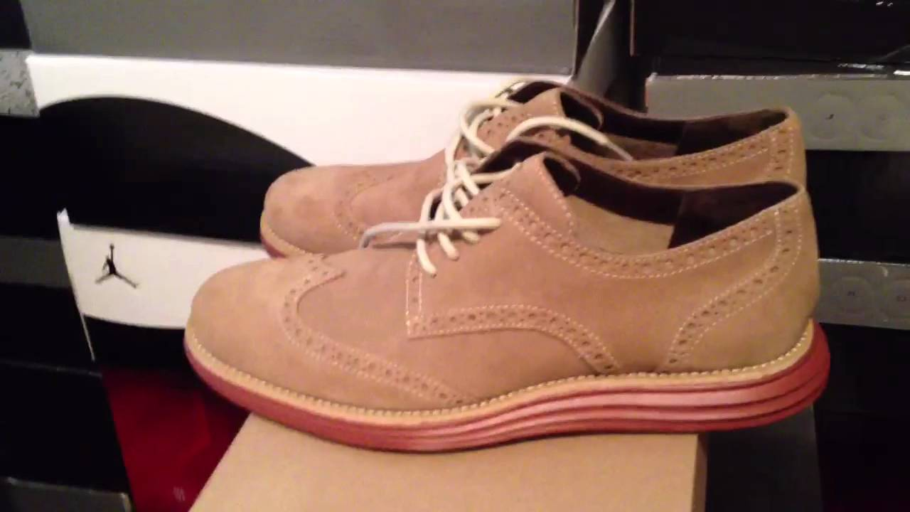 Milkshake LunarGrand Wingtip Review - Cole Haan / Nike crossover - YouTube