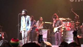 Chronixx Smile Jamaica Live Performance @ The Fonda Theatre 4-1-17