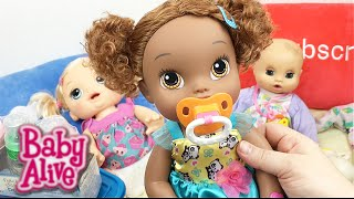 Baby Alive Doll Walmart Haul with Bottles, Sleeper, Pacifiers, and Magic Erasers