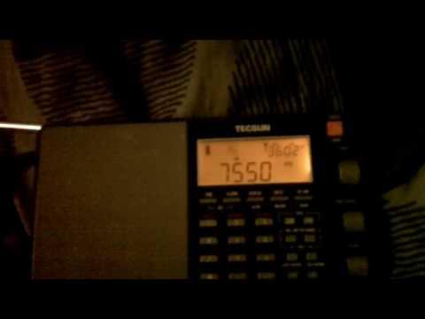 100 0084 All India Radio(Bangalore) tonight with a banging signal. 7550 kHz. 2215 UTC.