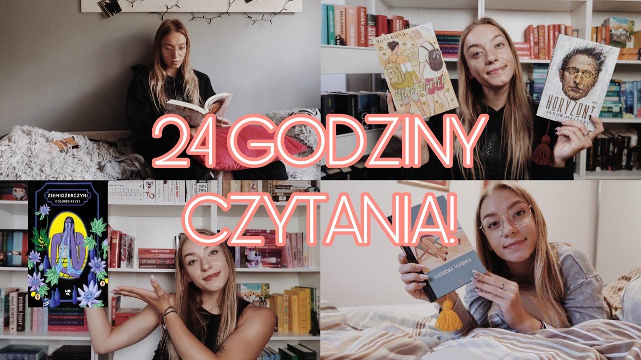 Mało-stronny 24-GODZINNY MARATON CZYTELNICZY! 📖📚