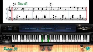 Como Tocar Merengue En El Piano   Patron #30