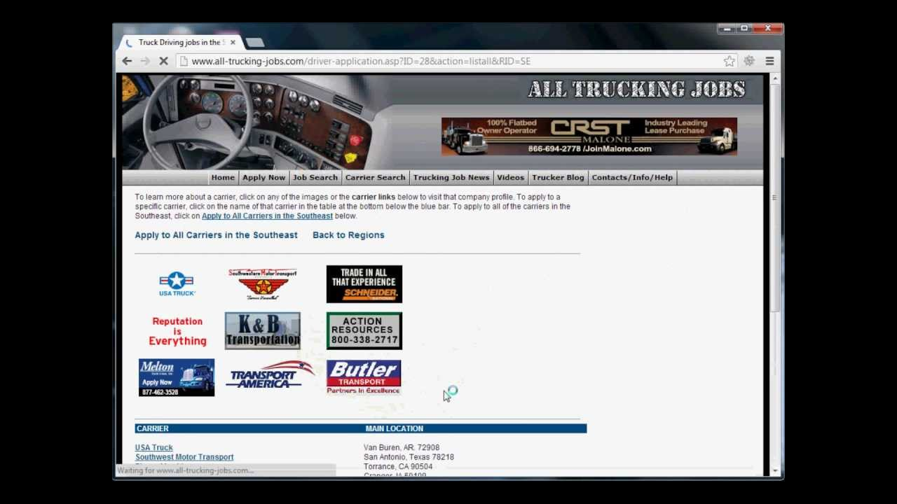 how to best complete your trucking job application how to best complete your trucking job application