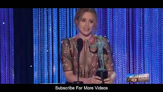 Claire Foy (Best Female Actor) Speech  at The 23rd Annual Screen Actors Guild Awards