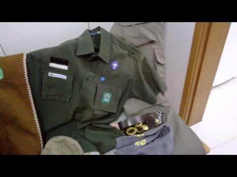 Vestuário Escoteiro UEB (novo uniforme)