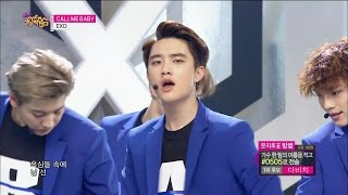 【TVPP】EXO - CALL ME BABY, 엑소 - 콜 미 베이비 @ Comeback Stage, Show Music core Live