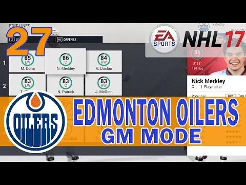 NHL 17 Edmonton Oilers Franchise Mode Ep. 27 | Round 2 vs Coyotes